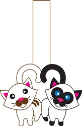 Kitty Puppet Print Art