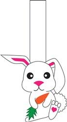 Rabbit Puppet Print Art