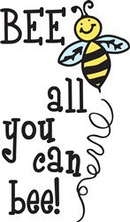 All You Can Bee Print Art