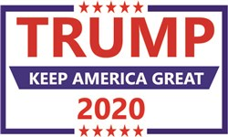 Trump Campaign Logo Print Art