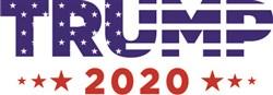 Trump Political Logo Print Art