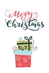 Christmas Gifts Print Art