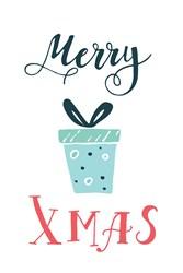 Merry Xmaas Print Art