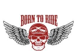 Born To Ride Print Art