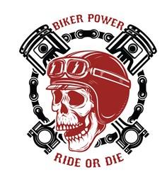 Biker Power Print Art