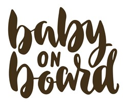 Baby On Board Print Art