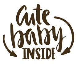 Cute Baby Inside Print Art