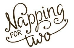 Napping For Two Print Art