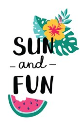 Sun And Fun Print Art