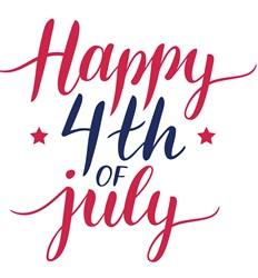 Happy 4th Of July Print Art