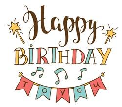 Happy Birthday To You Print Art