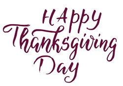 Happy Thanksgiving Print Art