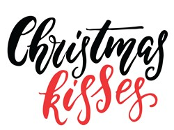 Christmas Kisses Print Art