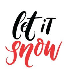 Let It Snow Print Art