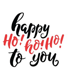 Happy Ho Ho Ho Print Art