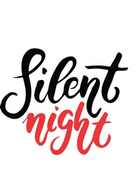 Silent Night Print Art