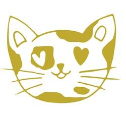 Kitty Head Print Art