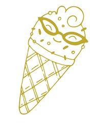 Happy Ice Cream Print Art