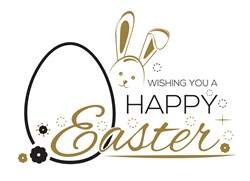 A Happy Easter Print Art