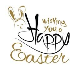 Wishing Happy Easter Print Art