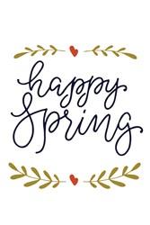 Happy Spring Print Art
