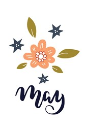 May Flowers Print Art
