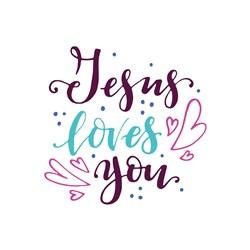 Jesus Loves You Print Art