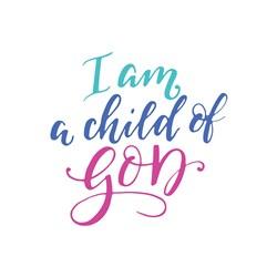 Child Of God Print Art