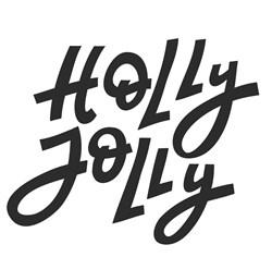 Holly Jolly Print Art