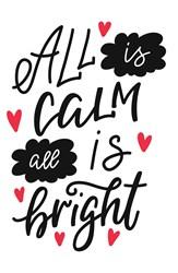 All Is Calm Print Art