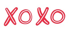XOXO Print Art