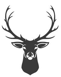 Deer Head Print Art