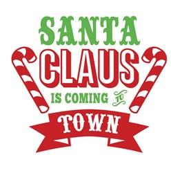 Santa Is Coming Print Art