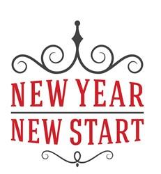 New Year, New Start Print Art