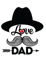 Love Dad Print Art