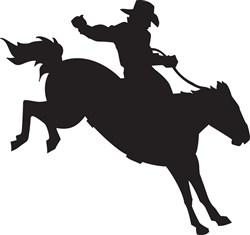 Rodeo Cowboy Print Art