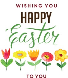 Happy Easter To You Print Art