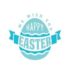 Wish You Happy Easter Print Art