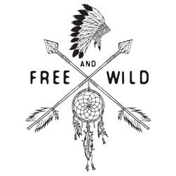 Free And Wild Print Art
