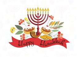 Happy Hanukkah Print Art