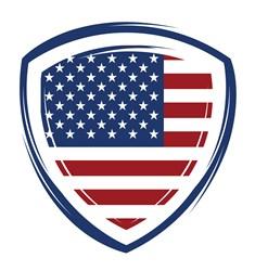 USA Shield Print Art