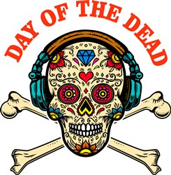 Day Of The Dead Print Art