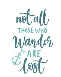 Those Who Wander Print Art