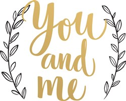 You And Me Print Art