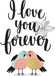 Love You Forever Print Art