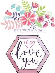 Love You Print Art