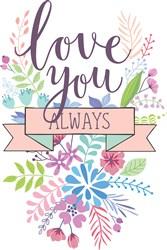 Love You Always Print Art