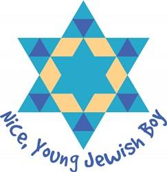 Jewish Boy Print Art