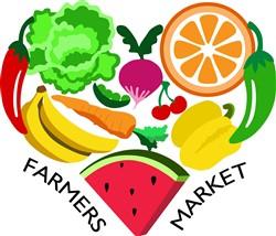 Farmers Market Print Art