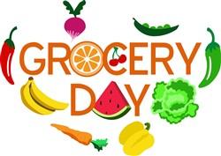 Grocery Day Print Art